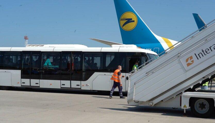 """Авиалинии """"МАУ"""", рейсы из Украины"""