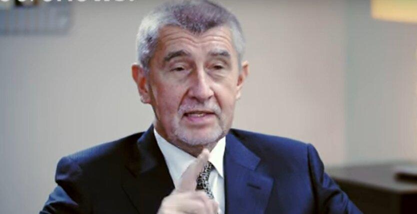 Андрей Бабиш, премьер-министр Чехии