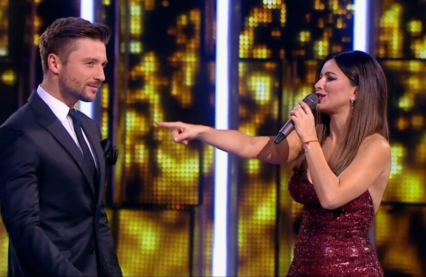 Сергей Лазарев и Ани Лорак на сцене