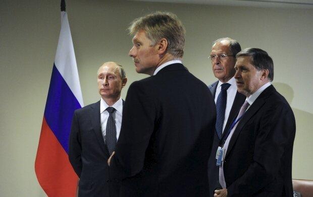 Путин Песков Лавров