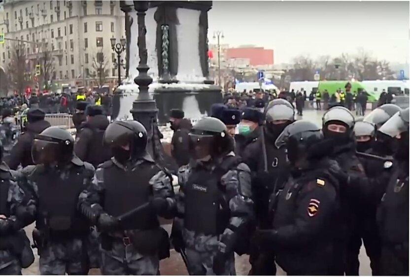 Протесты в России, Митинг в Москве, Алексей Навальный, Протест против Путина
