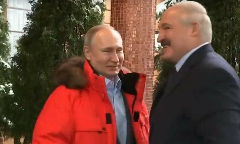путин+лукашенко