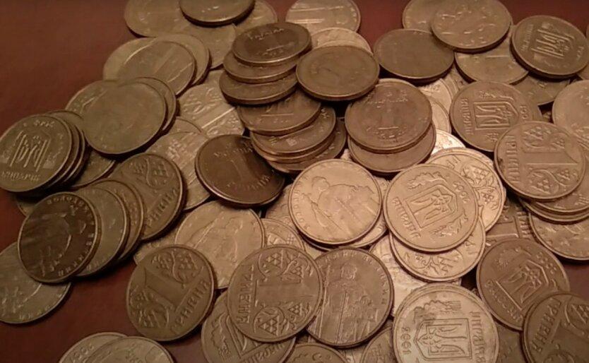 Украинцам объяснили особенности использования одногривневых монет старого образца