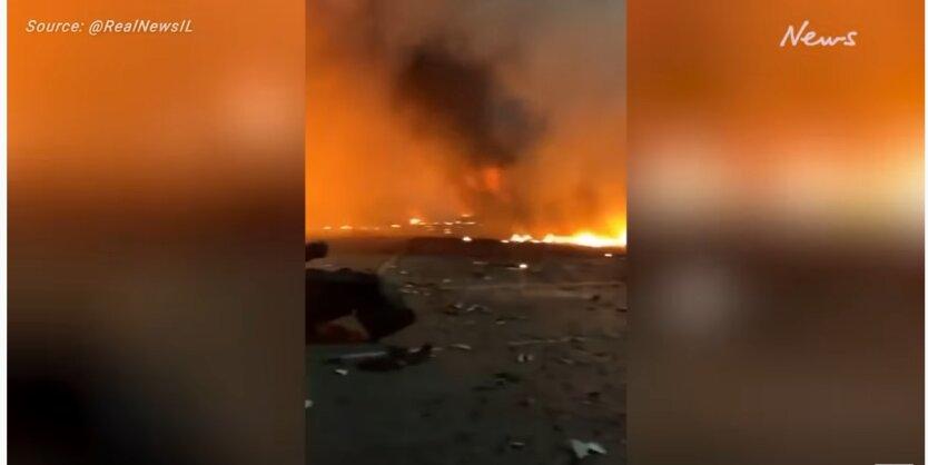 В порту Дубая взорвался танкер с нефтью: видео