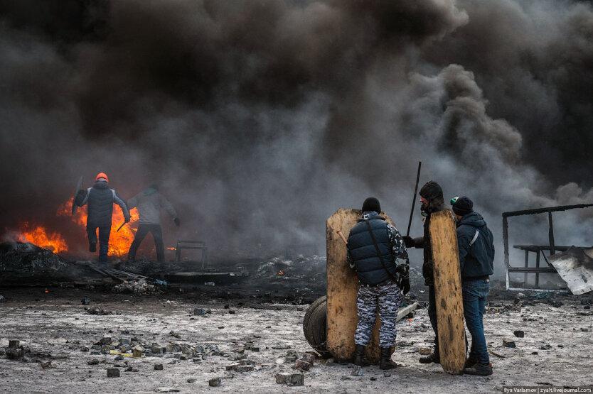 Столкновения на Грушевского15