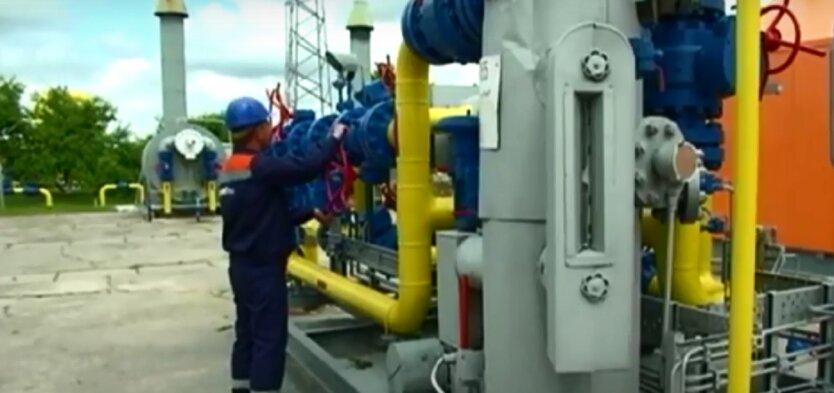 Поставка российского газа в Украину