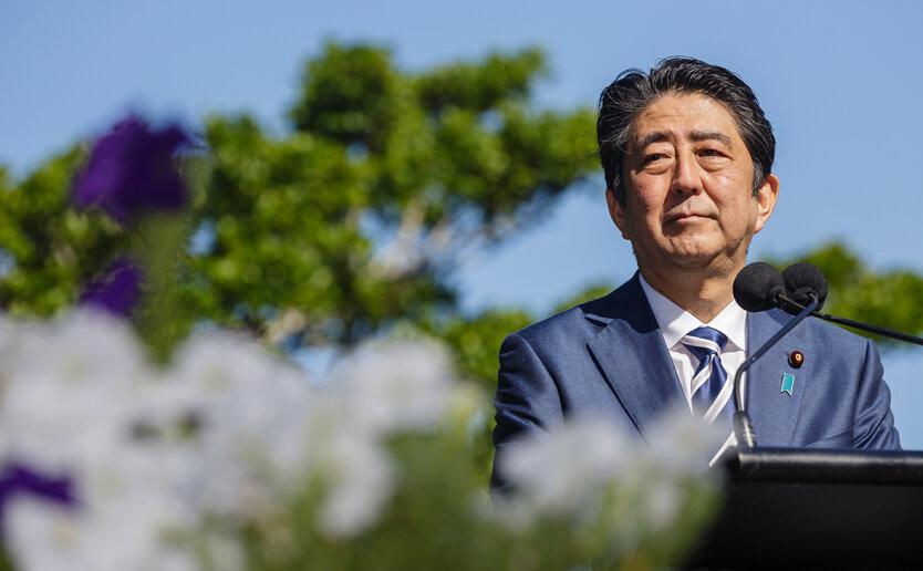 Премьер-министр Японии Синдзо Абэ отставка