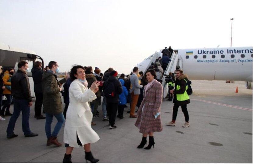 МАУ, Полет над Киевом, Авиакомпания МАУ, Рейсы МАУ, Работа МАУ в коронакризис