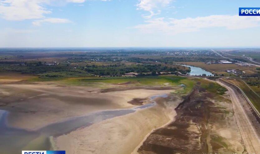 Дефицит воды, Крым, Балановское водохранилище