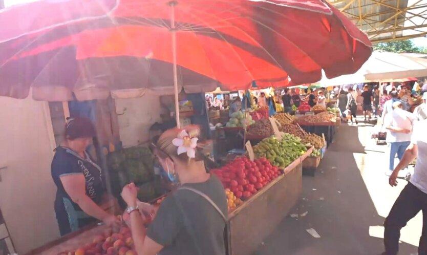 Базар в Украине, цены на продукты в украине