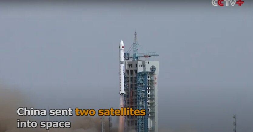 Запуск китайских спутников