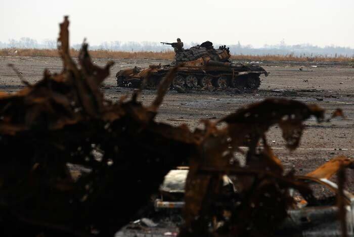Сражение за Донецкий аэропорт