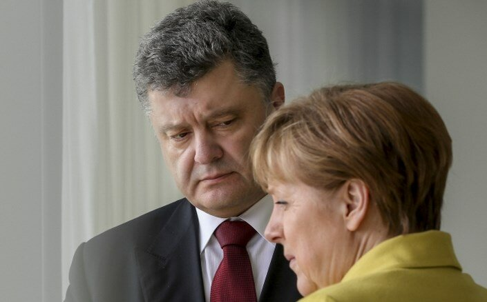 порошенко меркель44