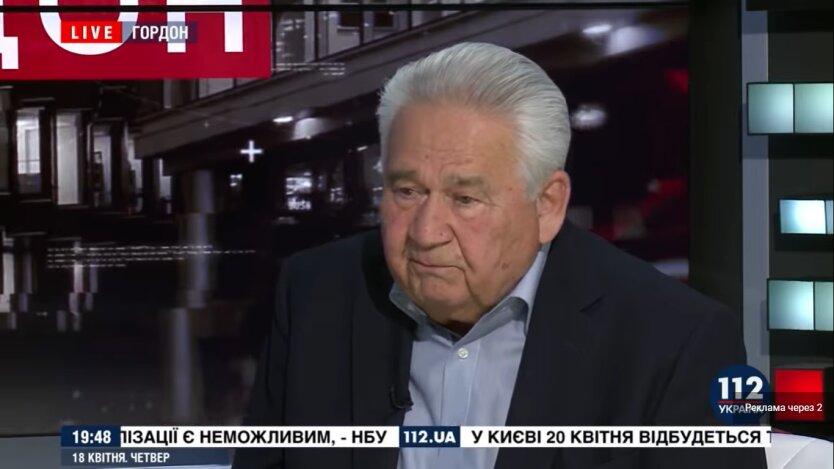 Витольд Фокин, экологическая катастрофа, шахты Донбасса