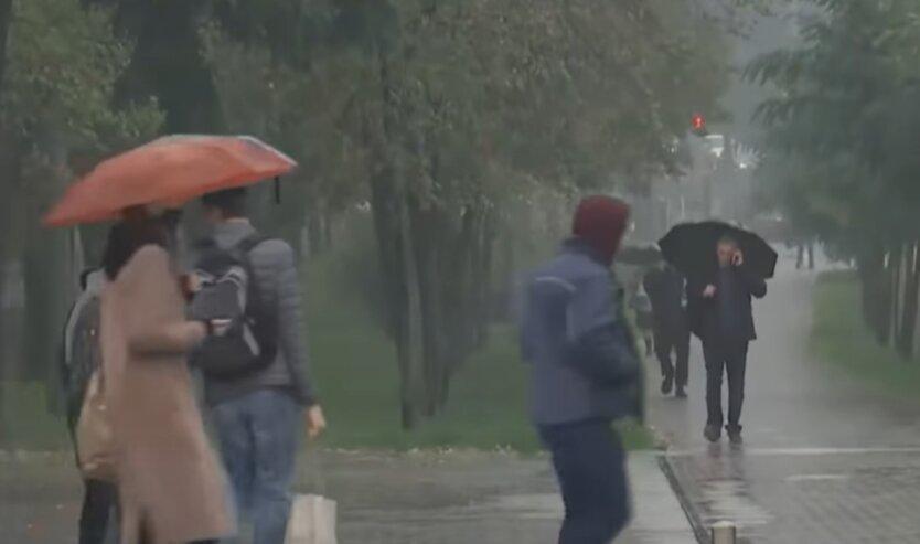 Погода в Украине, град, грозы