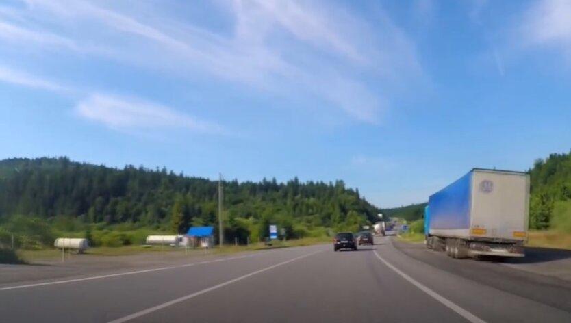 Самые опасные дороги Украины
