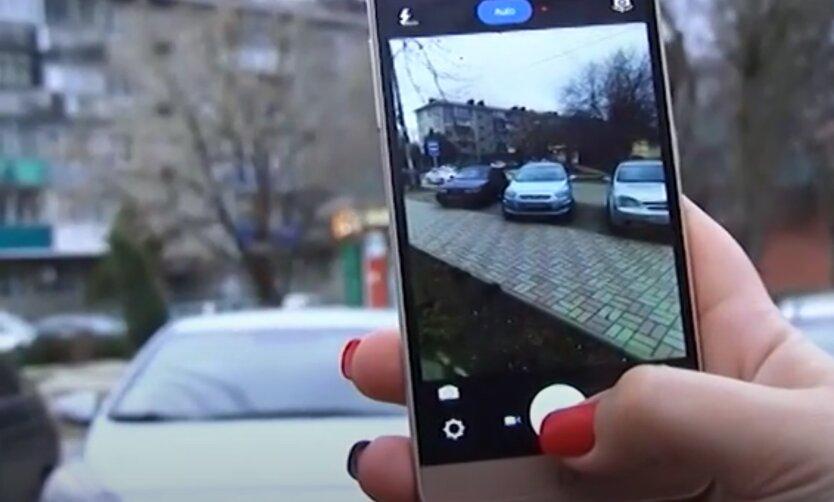Украинцы с помощью смартфона смогут зарабатывать на штрафах за нарушение ПДД