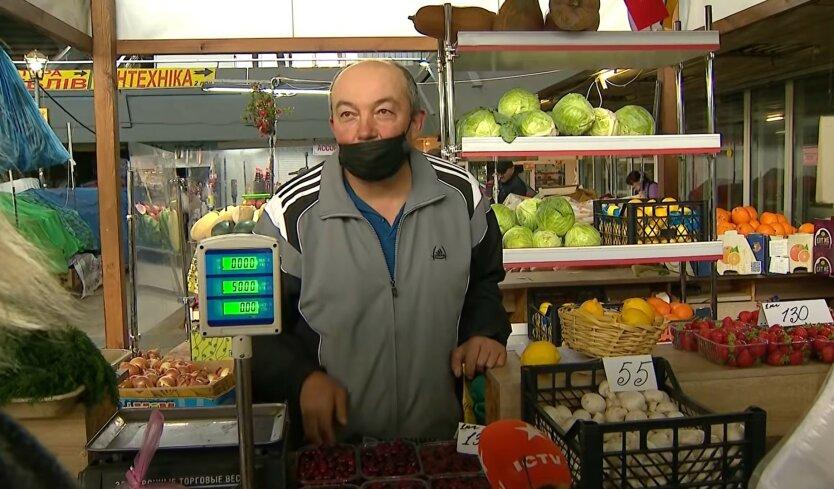 Овощи в Украине, фрукты, томаты