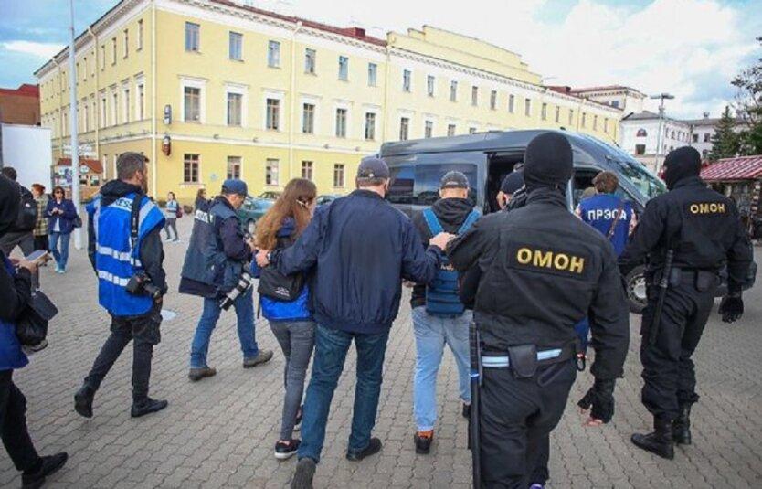Задержание журналистов в Беларуси