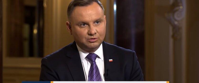 Анджей Дуда, война Украины с РФ, Владимир Зеленский