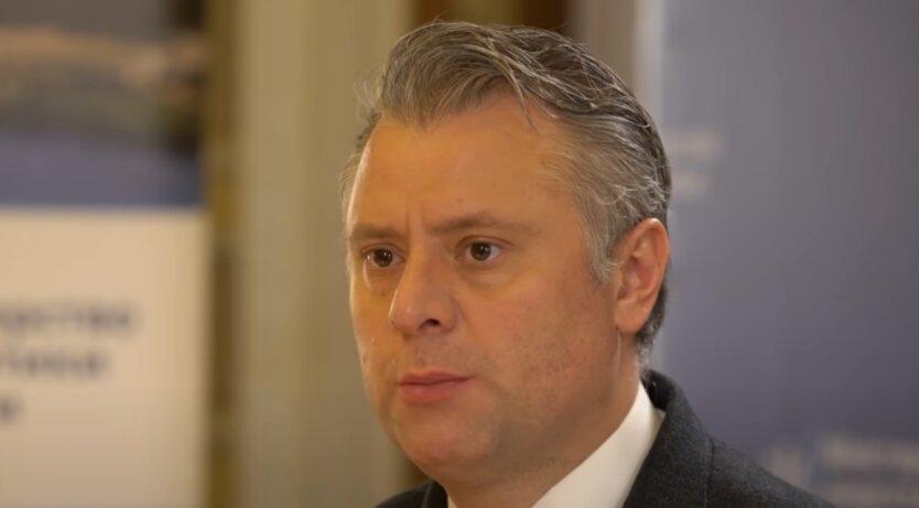Юрий Витренко, Украина, газ