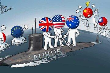 AUKUS: хорошо забытое старое в новой антикитайской обертке