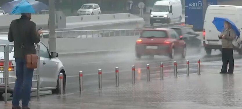 Гроза в Киеве, погода в украине, ухудшение погоды, дождь