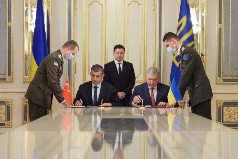 Украина и Турция построят совместный центр