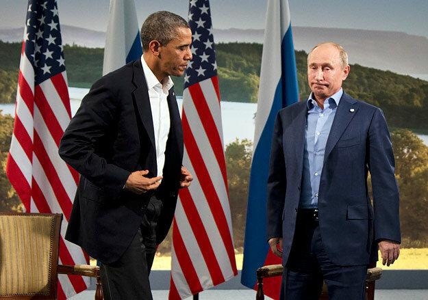 Владимир Путин Барак Обама