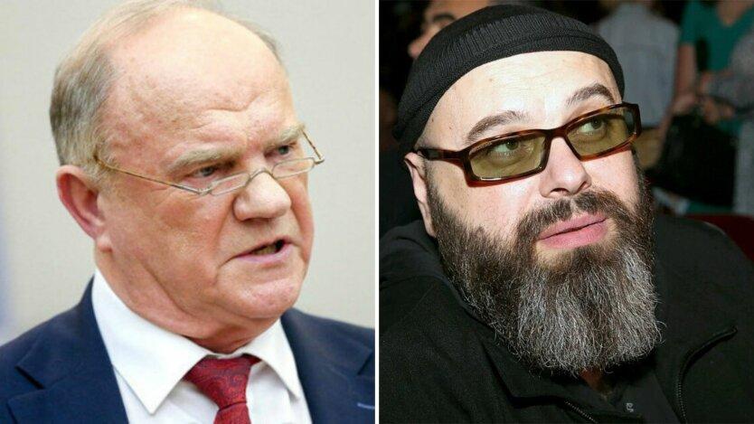 Геннадий Зюганой и Максим Фадеев
