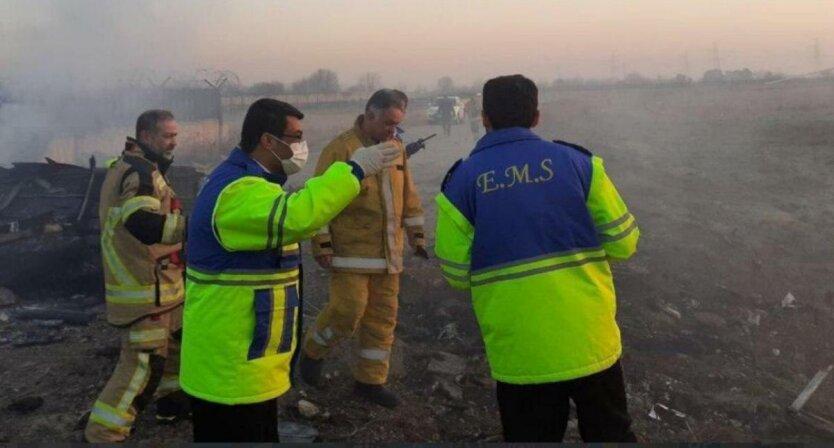 крушение Боинга в Иране
