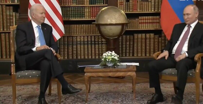 Джо Байден и Владимир Путин, слова об убийце, журналисты
