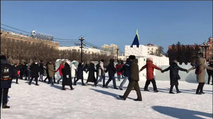 Протесты в России, Алексей Навальный, Антиправительственный митинг в России