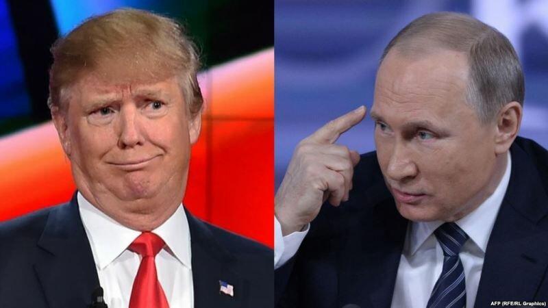 Трамп_Путин