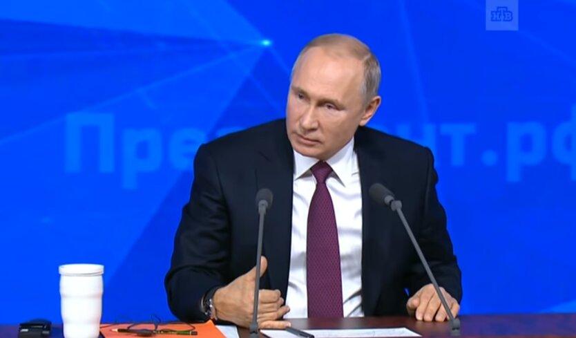 Владимир Путин, санкции ЕС, оккупация Крыма