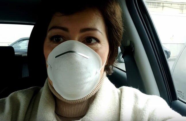 карантин в маске