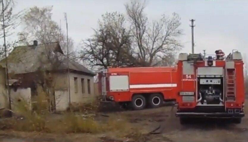 На Луганщине подорвалась пожарная машина: есть пострадавшие