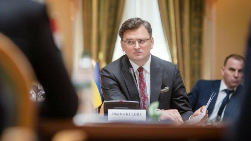 Кулеба, протесты  беларуси, агрессия россии, план путина