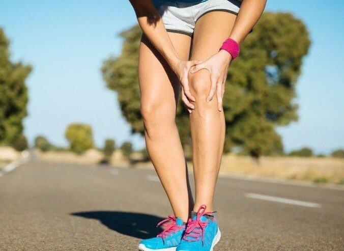 колени бег спорт