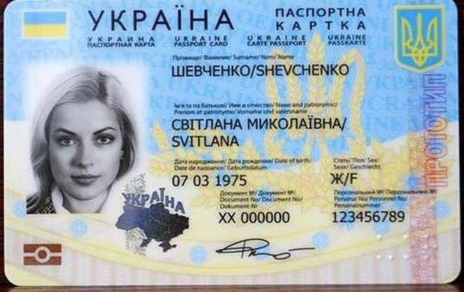 ID паспорт карта