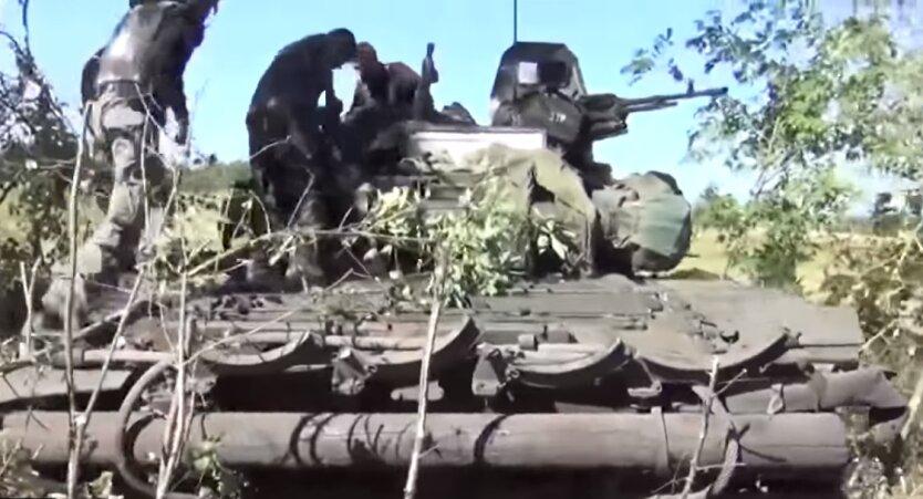 Военнослужащие вооруженных сил России на Донбассе