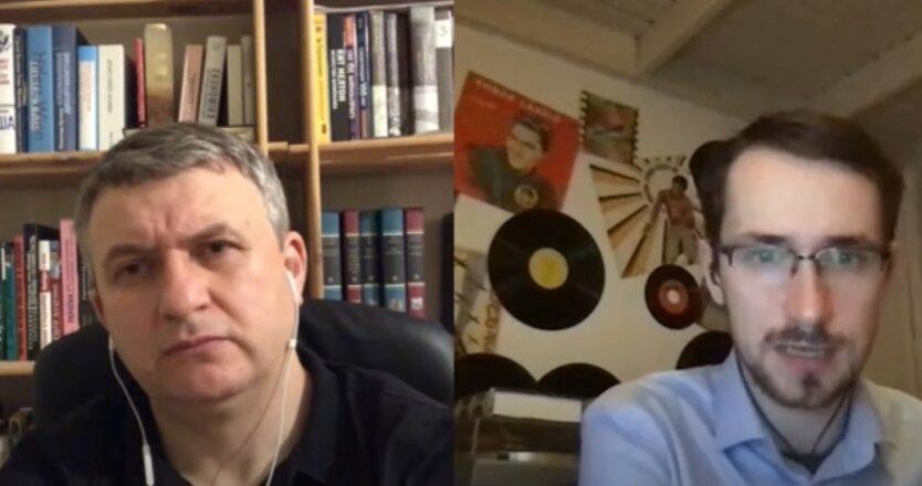 Павел Щелин и Юрий Романенко