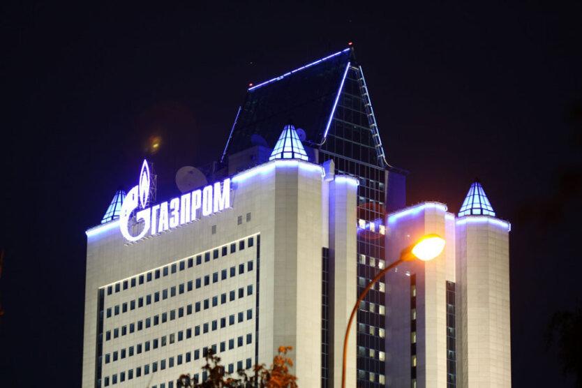 здание газпром