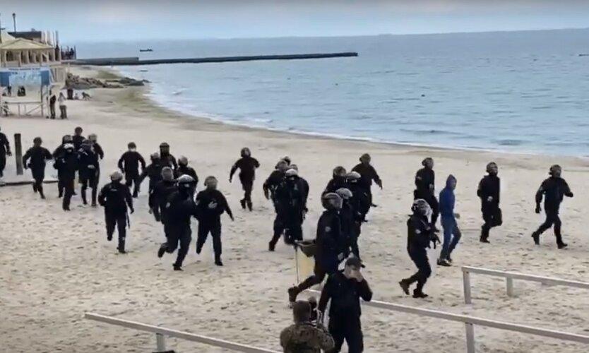 В Одессе оцепили пляжи и курортные зоны