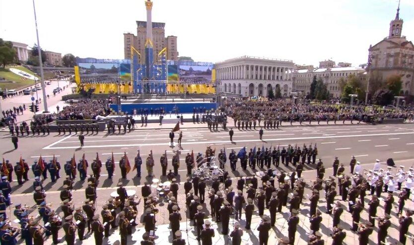 Парад в Украине, МВД Украины, Использование символики тоталитарных режимов