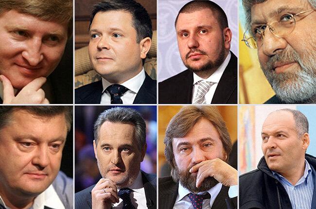 украинские олигархи