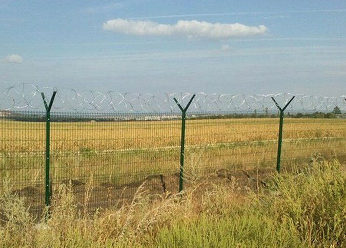 забор донбасс