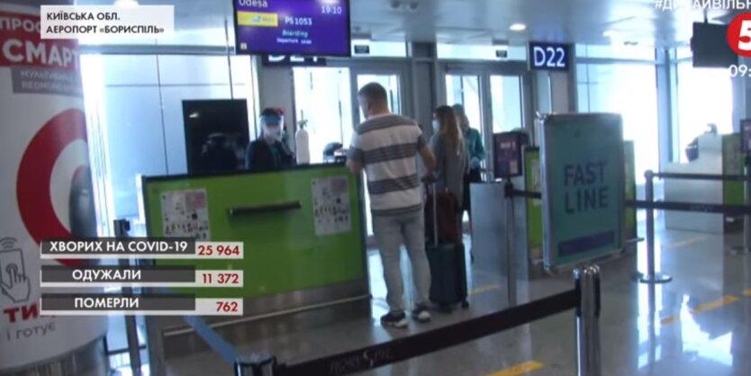 """Аэропорт """"Борисполь"""", авиакомпания МАУ, отмена рейсов"""