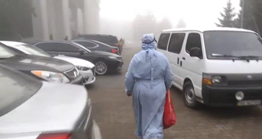 эвакуация украинцев из Ухани, Новые Санжары