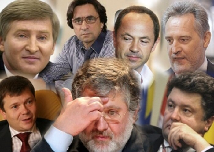 Украинские олигархи Порошенко